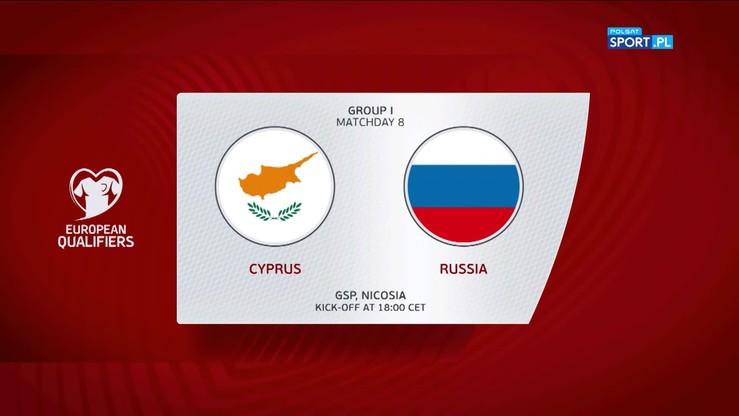 Cypr - Rosja 0:5. Skrót meczu