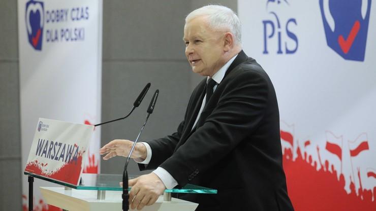 Kaczyński o Konfederacji: zęby bolą