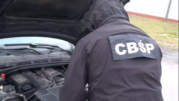Warszawski gang złodziei samochodów rozbity. Zatrzymano 10 osób
