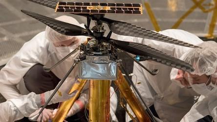 Tak będzie wyglądał pierwszy pojazd latający do eksploracji obcej planety
