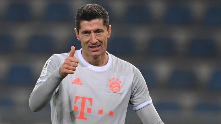 Robert Lewandowski się nie zatrzymuje! Dwa gole i asysta w meczu z Arminią Bielefeld