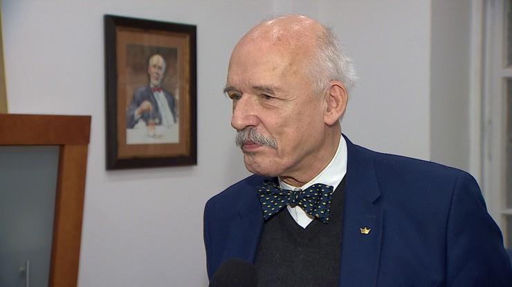 """Janusz Korwin-Mikke w """"Polityce na Ostro"""". Transmisja od godz. 20:00"""