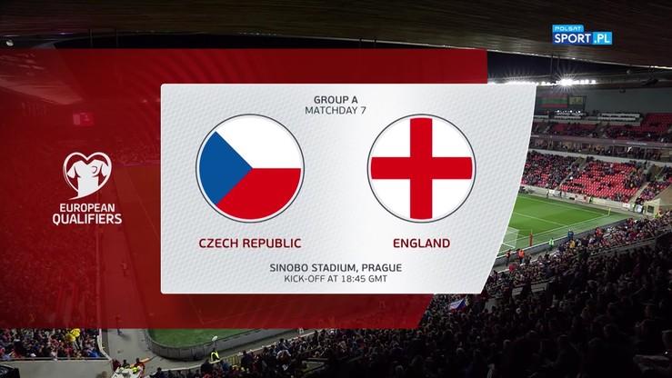 Czechy - Anglia 2:1. Skrót meczu