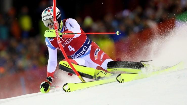 Alpejski PŚ: Szwajcar najlepszy w slalomie w Adelboden
