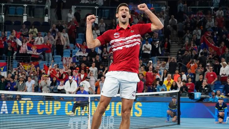 ATP Cup: Serbowie triumfatorami pierwszej edycji