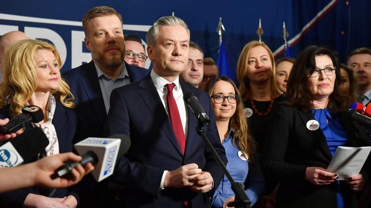Robert Biedroń przedstawił swój sztab wyborczy