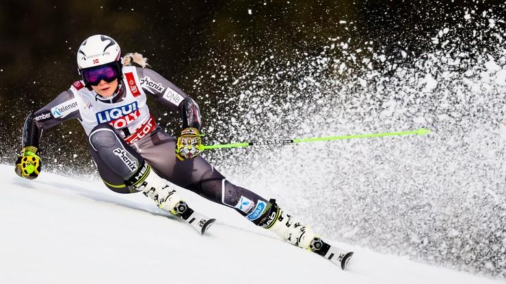 Alpejski PŚ: Koniec sezonu wicemistrzyni olimpijskiej w zjeździe