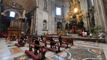 Pierwszy dzień Triduum Paschalnego. Papież odprawił mszę bez udziału wiernych