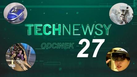 Zobacz TechNewsy odcinek 27 - filmowy przegląd najciekawszych wiadomości