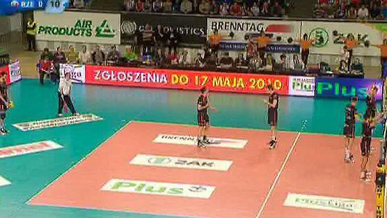 ZAKSA Kędzierzyn-Koźle - Asseco Resovia Rzeszów - set 1, PlusLiga