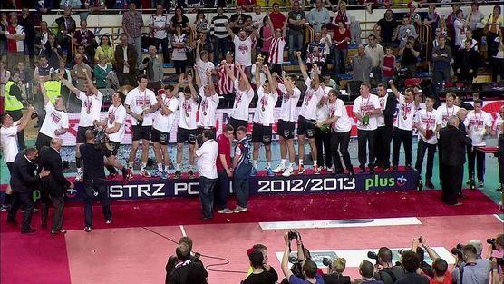 Asseco Resovia - tak zostali mistrzem Polski 2013