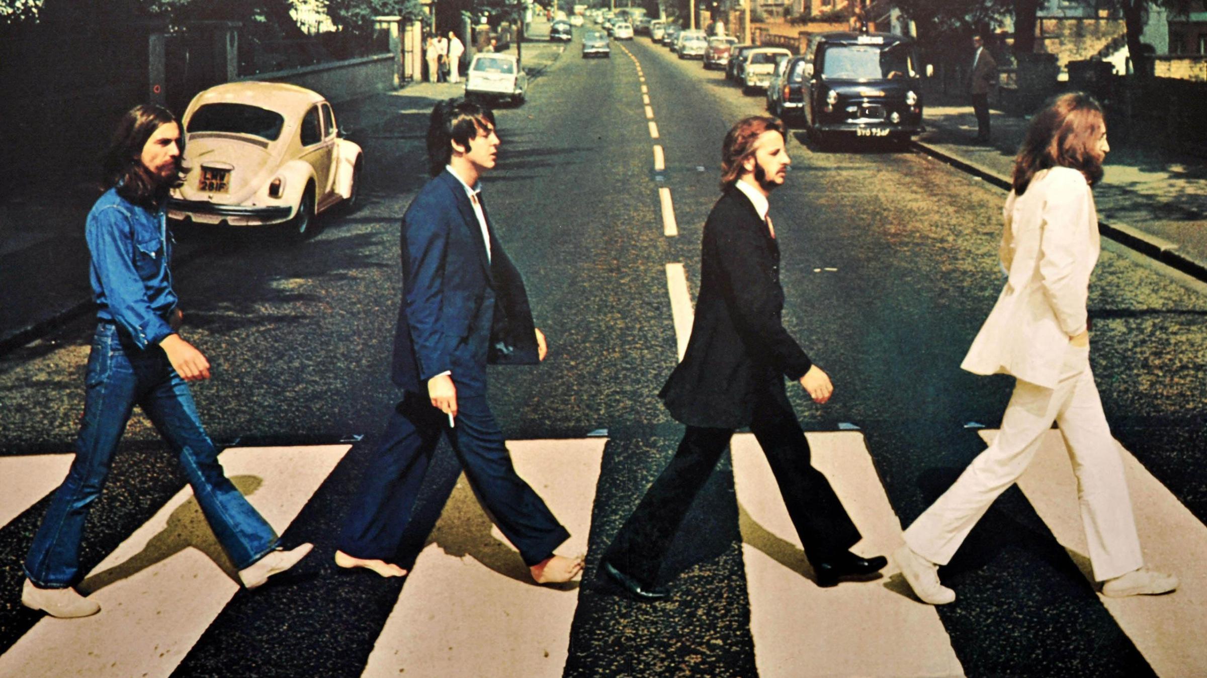 """zdjęcie z okładki płyty """"Abbey Road"""""""