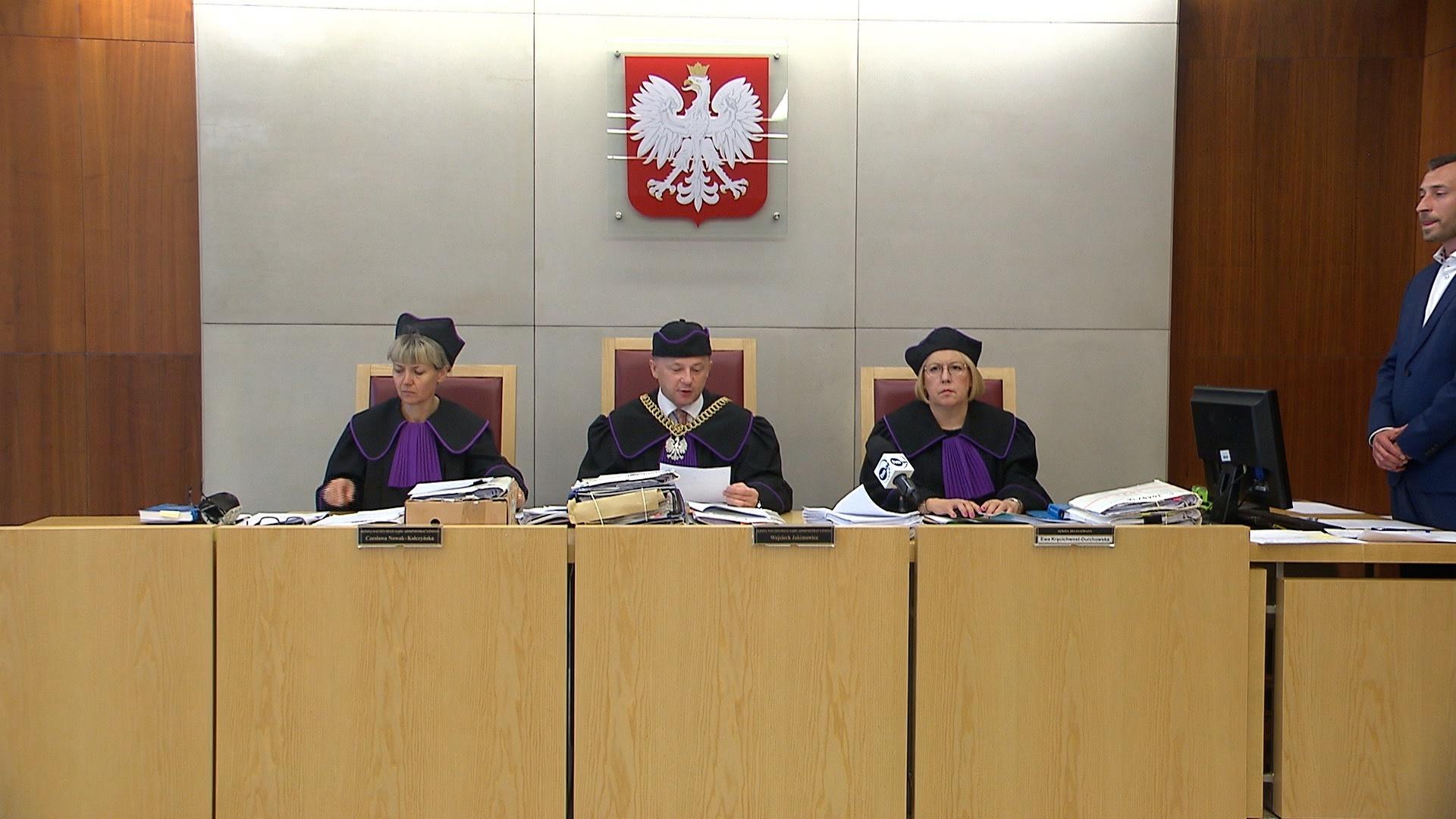 Kancelaria Sejmu tłumaczy się procedurą prawną w sprawie list poparcia sędziów do KRS