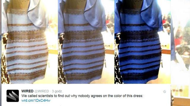 W sieci trwa dyskusja dotycząca koloru sukienki