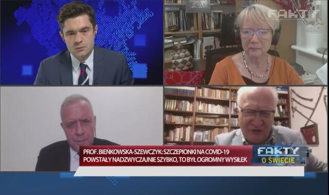 Dr Michał Sutkowski i prof. Krzysztof Simon o szczepionkach na koronawirusa
