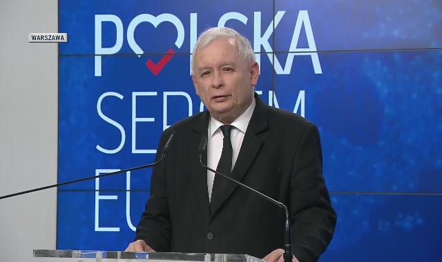 Prezes PiS proponuje podpisanie deklaracji w sprawie euro