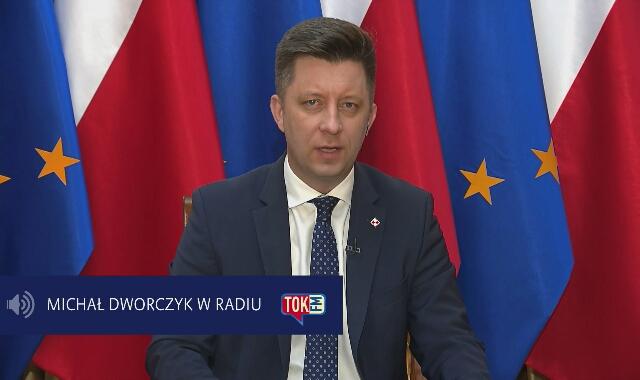 Rozmowa z Michałem Dworczykiem w Tok FM