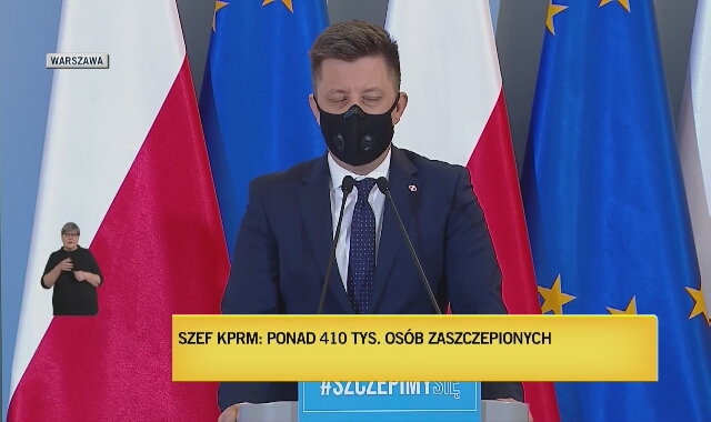 Michał Dworczyk o warunkach wcześniejszego szczepienia się pacjentów z chorobami współistniejącymi