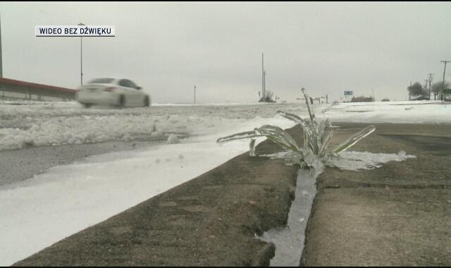 Zima sparaliżowała Teksas