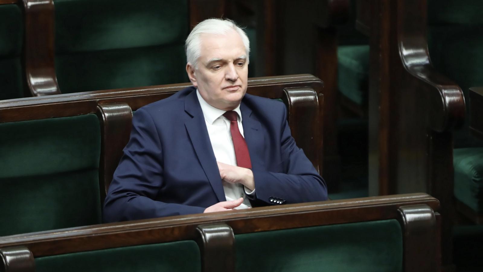 Jarosław Gowin odchodzi z rządu. W tle spór o głosowanie korespondencyjne
