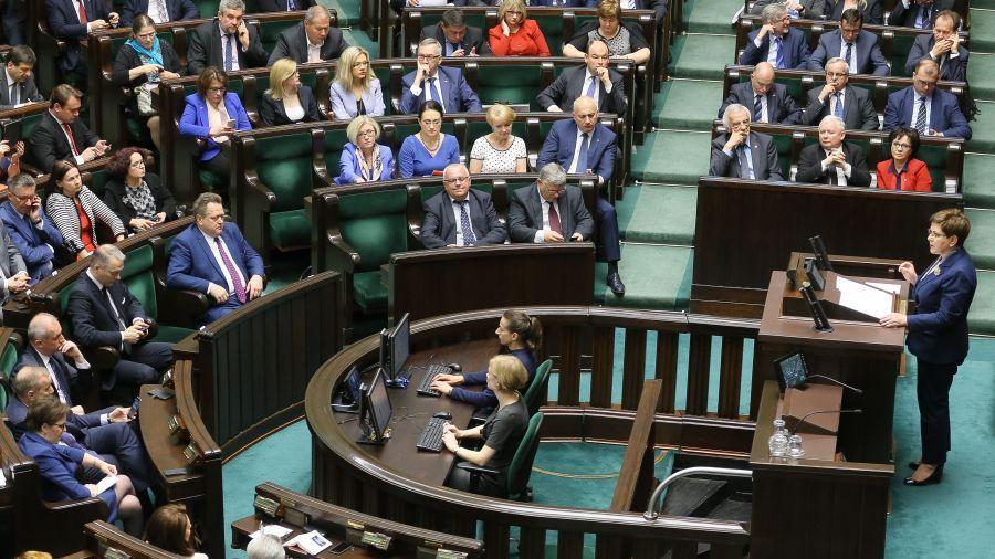 """12.05.2016   Opozycja krytykuje PiS za formę sejmowej debaty. """"To nie był audyt"""""""
