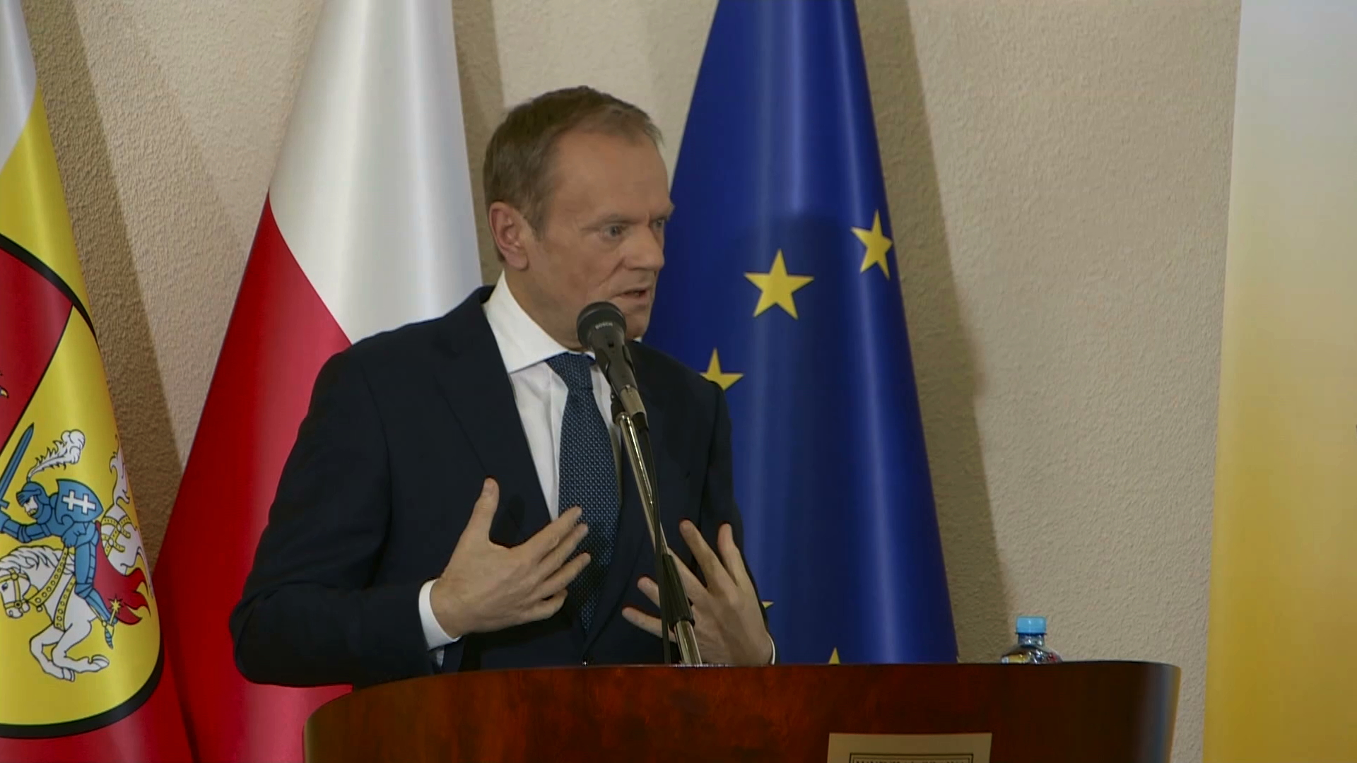 Wykład Donalda Tuska. Były premier skomentował sytuację w Polsce