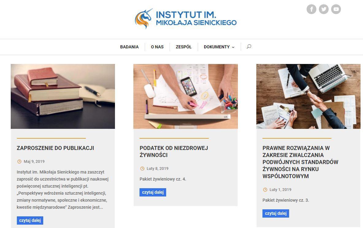 985 tys. zł dotacji dla Instytutu im. Mikołaja Sienickiego