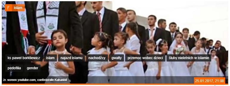 Zrzut ekranu artykułu na stronie Fronda.pl