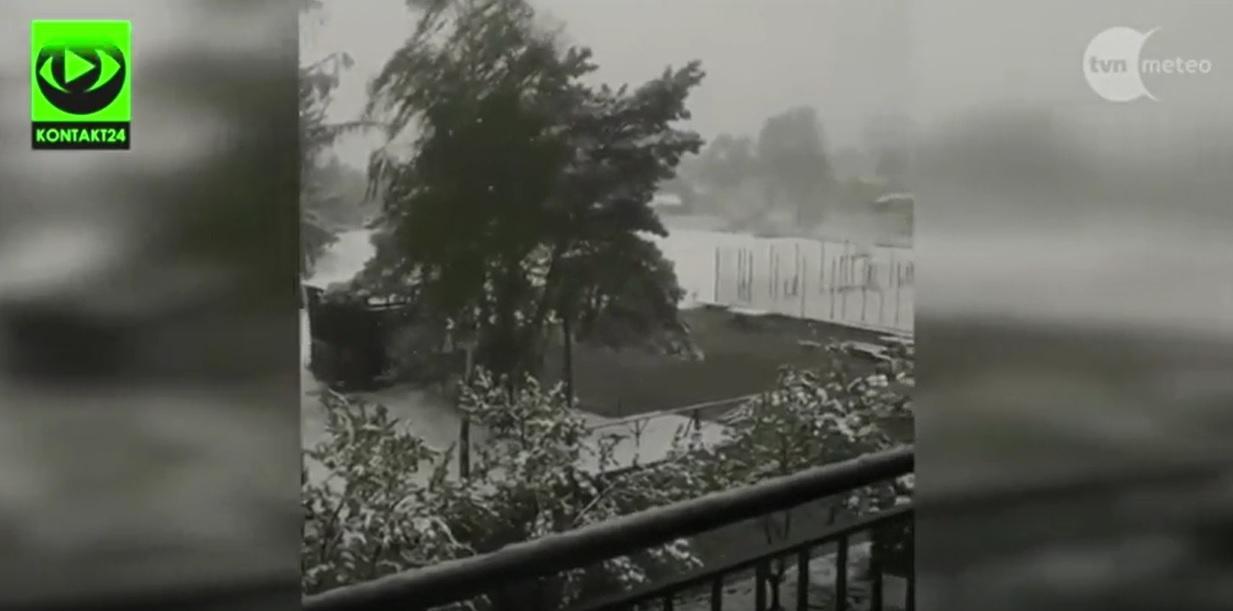 Widzowie przysyłali na Kontakt24 zdjęcia śniegu, który spadł w maju