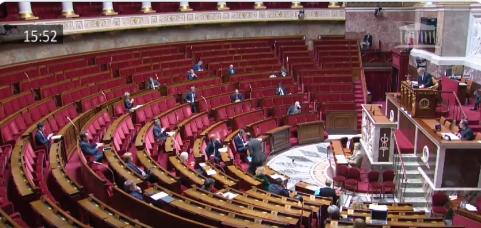 Obrady Zgromadzenia Narodowego Francji 24 marca 2020 r.