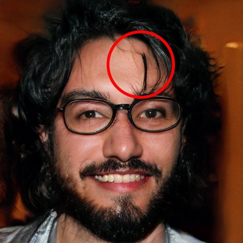 Algorytmy najgorzej radzą sobie z włosami przy generowaniu sztucznych portretów