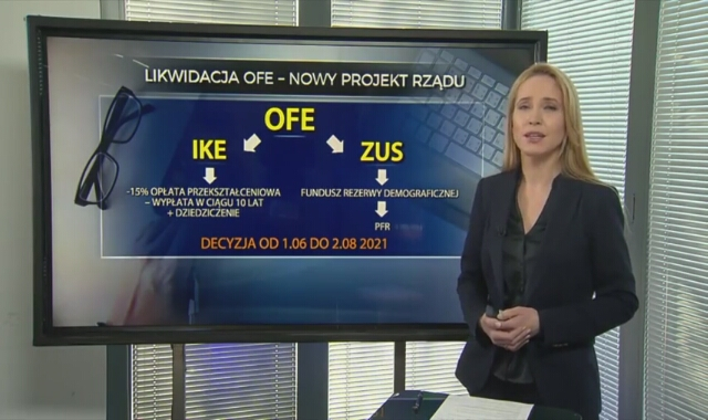 Likwidacja OFE - nowy projekt rządu