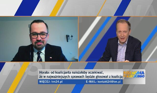 Marcin Horała o działaniach prokuratury wobec Daniela Obajtka w czasie rządów koalicji PO-PSL