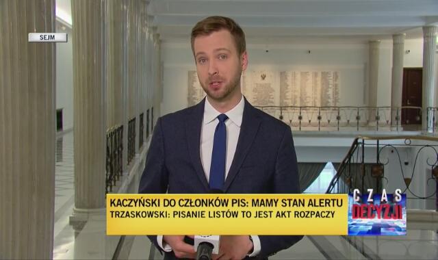Polityczne reakcje na list Jarosława Kaczyńskiego do członków PiS