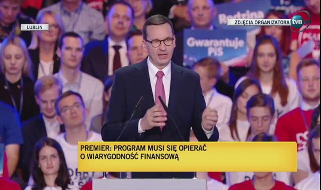 Premier Mateusz Morawiecki zapowiada Fundusz Inwestycji w Szkołę