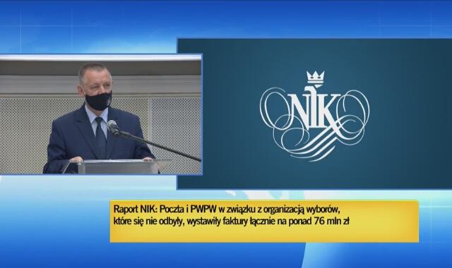 NIK skierowała zawiadomienia do prokuratury o uzasadnionym podejrzeniu popełnienia przestępstwa przez PP i PWPW