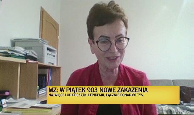 Profesor Boroń-Kaczmarska: Wszelkie skupiska, w których nie przestrzegamy podstawowych zasad bezpieczeństwa, są ryzykowne