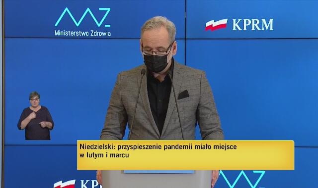 Niedzielski: zdajemy sobie sprawę, że wąskim gardłem są kadry lekarzy, pielęgniarek i innych zawodów w systemie opieki medycznej
