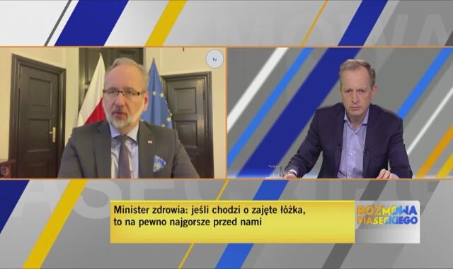 Minister zdrowia Adam Niedzielski: respiratorów nie zabraknie