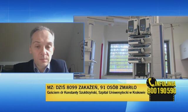 Dr Szułdrzyński: Do militaryzacji służby zdrowia jest jeden krok