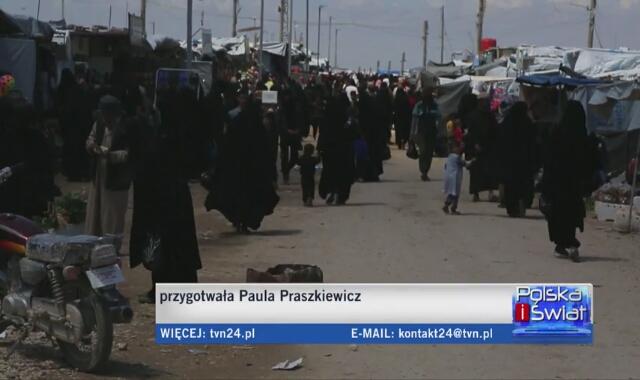 Sytuacja w obozie dla uchodźców z Syrii