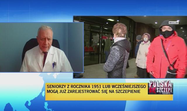 """Sutkowski: powinniśmy myśleć o """"dwóch prędkościach"""" szczepienia"""
