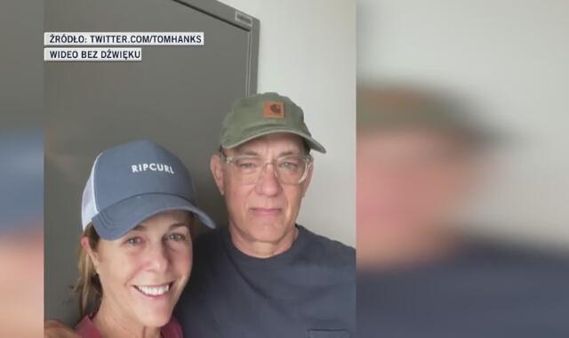 Tom Hanks opowiedział o walce z koronawirusem