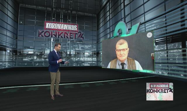 Dr Grzesiowski: musimy zwiększyć ochronę nosa, ust i oczu poprzez profesjonalne maseczki