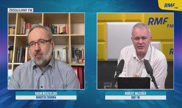 Minister Adam Niedzielski o trzeciej fali pandemii i możliwym scenariuszu na Wielkanoc