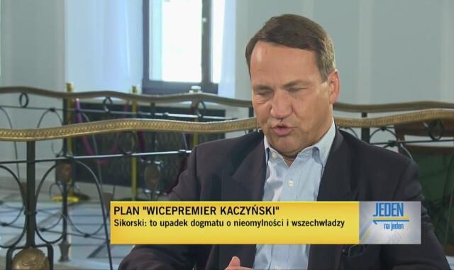 Radosław Sikorski ocenia Jarosława Kaczyńskiego