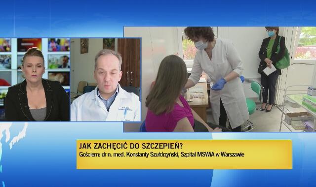 Dr Szułdrzyński: jest rekomendacja Rady Medycznej w sprawie szczepień dzieci