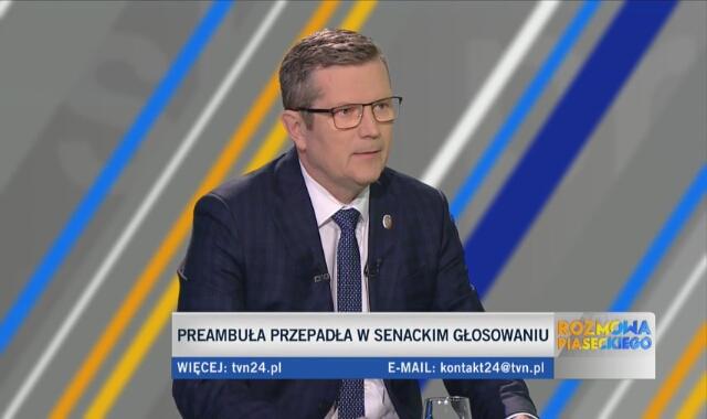 Senator KO Marcin Bosacki zapowiada odejście od zdalnego głosowania