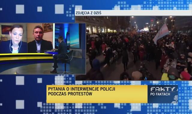 Zuzanna Rudzińska-Bluszcz z Biura RPO o decyzjach sądów w sprawie zatrzymanych manifestantów