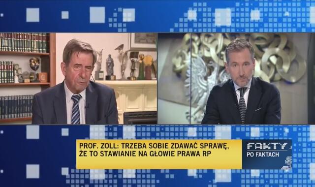Profesor Zoll: bliskim krokiem jest wykluczenie Polski z Unii Europejskiej